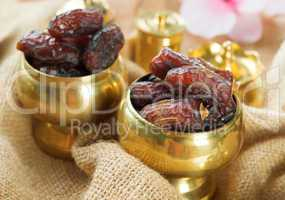 Ramadan food dates fruit.