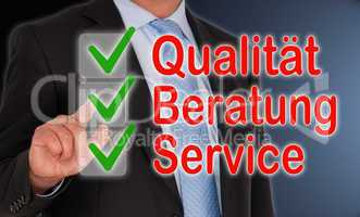 Qualität - Beratung - Service