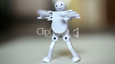 """Wind-up toy """"Dancing Robot"""""""
