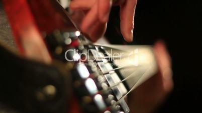 Bass playing