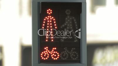 Pedestrians signal