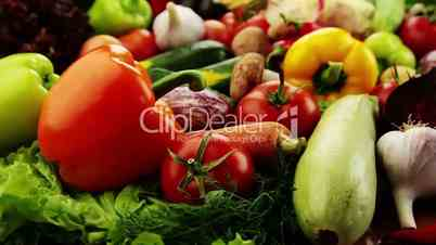 Vegetables. Close-up