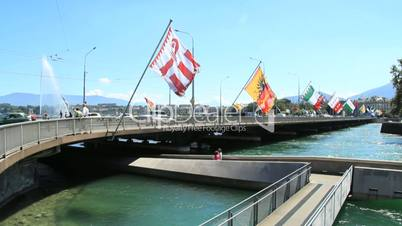 Geneva bridge