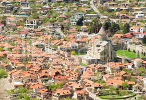 Georgia, Mtskheta, village