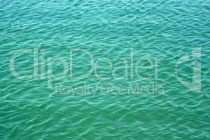 turquoise seawater surface