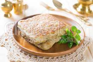 Mutabbaq Arabian Stuffed Bread
