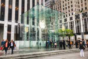 Apple retail store in New York City