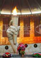 Mamaev Kurgan memorial in Volgograd, Russia