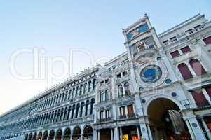 Venice Italy San marco square belltower