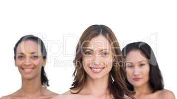Natural sensual nude women posing