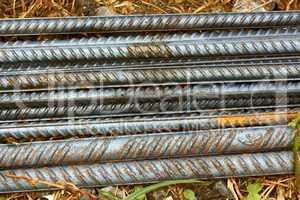parallel reinforcement rods