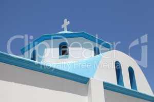 Details einer Kirche in Griechenland