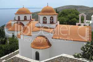 Kirchen in der Klosteranlage Agios Savvas