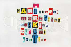 main components of market and business