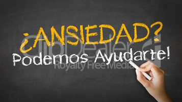Anxiety we can help (In Spanish)