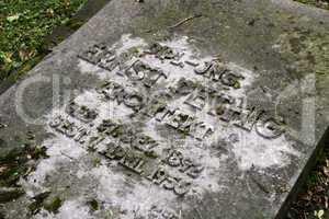 Grab des Architekten Ernst Pethig in Lemgo