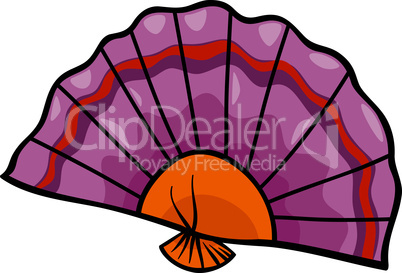 fan clip art cartoon illustration