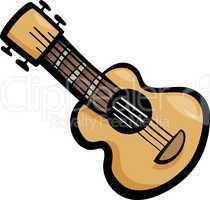 guitar clip art cartoon illustration