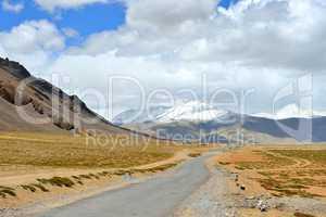 Indien, Ladakh, Gebirge, Hochebene
