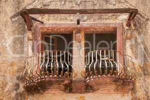 marode Balkone
