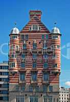 White Star Line building in Liverpool, UK