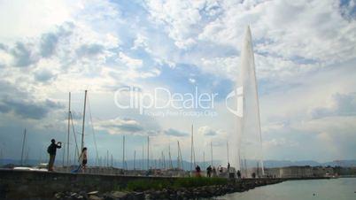 Jet d'eau in Geneva