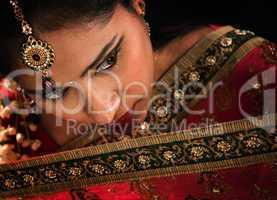 Gorgeous Indian woman