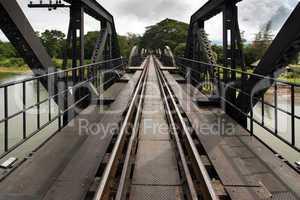 Ricer Kwai bridge railway