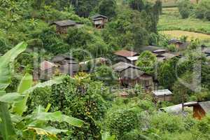 Thai ethnic village