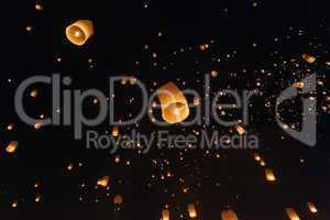 Fire lantern festival