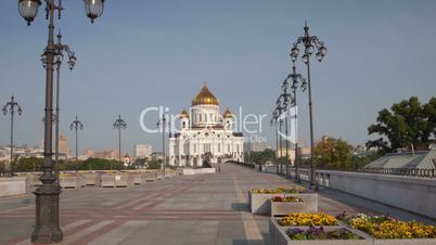 Cathedral of Christ the Saviour hyperlapse
