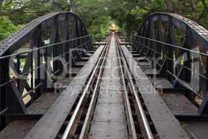 River kwai bridge railway