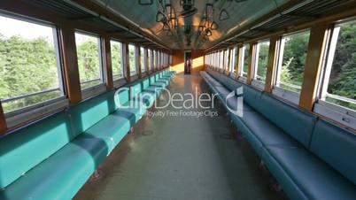 Inside Thai train