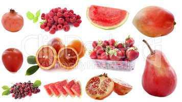 rouge fruits
