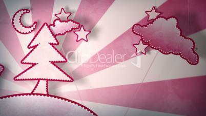 cardboard red christmas tree loop 5.01 - 15.00