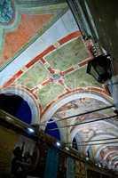 Venice Italy Rialto arch ceiling fresco