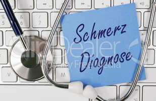 Schmerz Diagnose