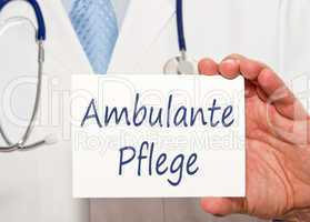 Ambulante Pflege