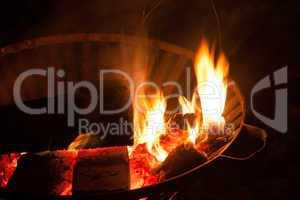 Feuertopf, fire basket