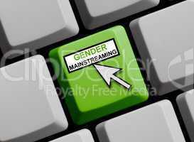 Gender Mainstreaming online
