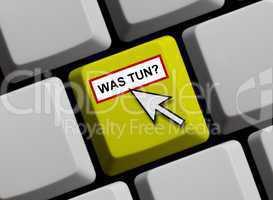 Was tun? Online gibt es Hilfe