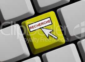 Recherche online