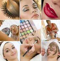 Montage Women Make Up Treatment at Health Spa
