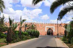 Marrakech Old City Walls