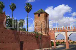 Marrakech Old City Walls