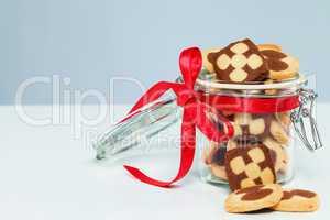 plätzchen für weihnachten im glas