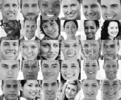 Head shot profile pictures of smiling applicants