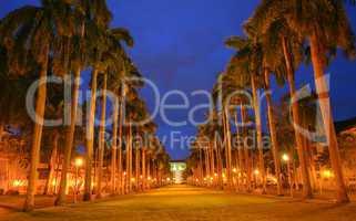 el prado avenue: monumental avenue, surrounding area of the pana