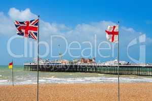 brighton pier. uk