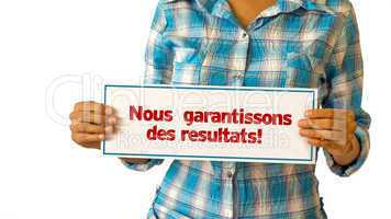 we deliver results (in french)